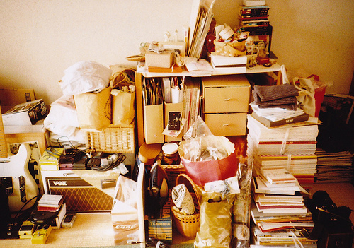 3 Organizational Tricks for the Naturally Messy