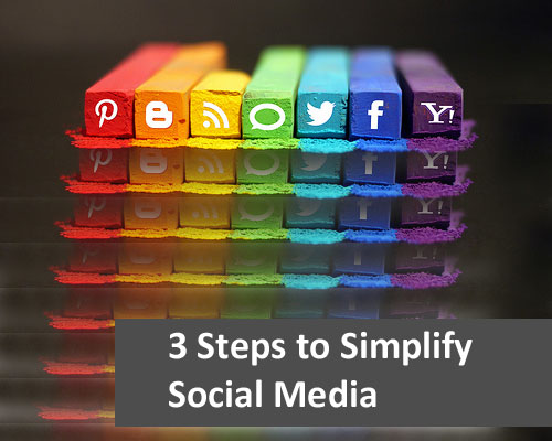 3 Steps to Simplify Social Media for Soloprenuers