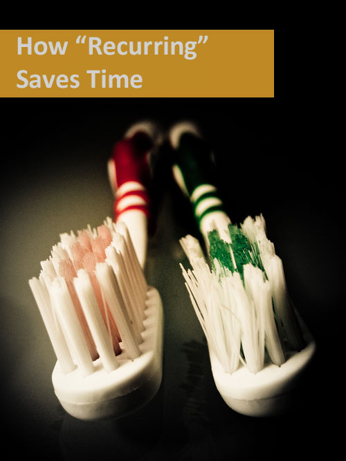 How Recurrance Features Save Time
