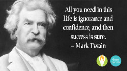 Ignorance and Confidence – An Amazing Match