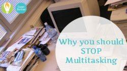 Multitasking is killing your productivity